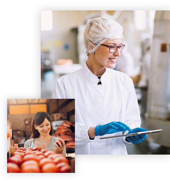 biometic f trace complete food traceability solution applications